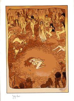 Aphrodite, p.9 par Georges Bess