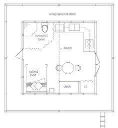 forest house floorplan