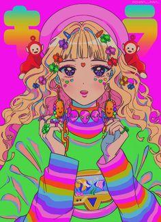 Image in Girls (anime,desenhos,games etc) collection by ♠Nunes♠ Aesthetic Art, Aesthetic Anime, Pretty Art, Cute Art, Character Art, Character Design, Estilo Anime, Kawaii Art, Anime Art Girl
