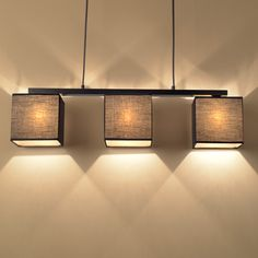 Chinese cloth Pendant lamps modern compact dining table lamp dining three Nordic creative personality Pendant Light ZA ZS144 #Affiliate