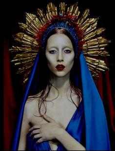 Synesthesia Garden - a weird art + style blog | » Blog Archive » Virgin Mary-Inspired Imagery from Miles Aldridge