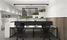 Geniales estas oficinas por mimdesign  en Australia.                              mim design