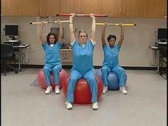 Dowel Exercises for #shoulder rehab