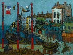 Discovery Of Rare Early Work By Influential Parisian Painter Paul Aizpiri 'Wows' Art Dealer — Forbes New York Galleries, Japanese Tattoo Art, European Paintings, Nautical Art, Figure Painting, Art World, Impressionism, Landscape Paintings, Abstract Art