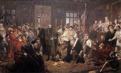 Jan Matejko - The Union of Lublin between Kingdom of Poland and the Grand Duchy of Lithuania  1869
