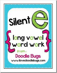 Doodle Bugs Teaching {first grade rocks!}: Long Vowels / Silent E Units