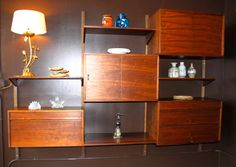 1000 Images About Retro Wall Unit On Pinterest