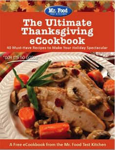 FREE e-Cookbook: 40 Ultimate Thanksgiving Recipes!