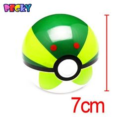 Becky 1Pcs Pokemon Ball Figures ABS Anime Action Figures Pokemon PokeBall Toys Super Master Pokemon Ball Toys Pokeball Juguetes