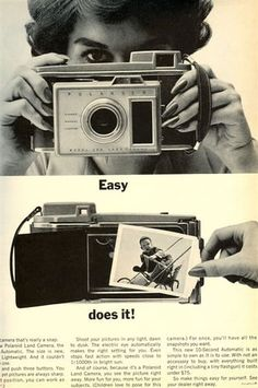50 Vintage Camera Ads - Part 1 | Abduzeedo Design Inspiration & Tutorials