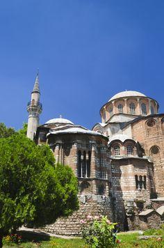 Turkey image gallery - Hagia Sofia mosque and Straits of Bosphorous.