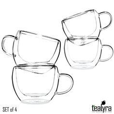 Universe Double Wall Glass Tea