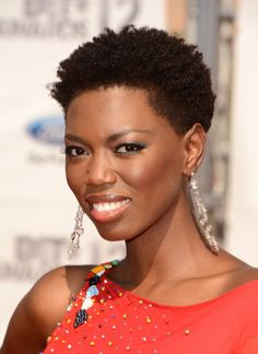 Short Natural Hairstyles for Black Women | Black Hair at the 2012 BET Awards