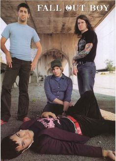 Fall Out Boy Band Portrait Poster 24x34 – BananaRoad