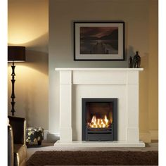 Rydal Micro Marble Fireplace