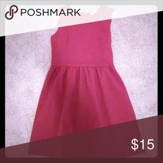 🎉 NWT Loft Cranberry Colored Dress New with tags. Never worn. Size 6 Regular. Cranberry colored dress. Ribbed texture. Zipper & hook & eye closure in back. LOFT Dresses