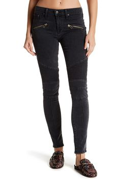 Aaron Moto Skinny Jeans by Lovers + Friends on @nordstrom_rack