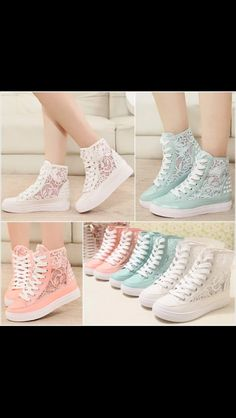 Lace shoes!