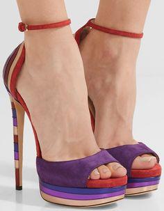 'Max' Sky-High Platform Statement Sandals by Jimmy Choo Stilettos, Pumps, Stiletto Heels, Dream Shoes, Crazy Shoes, Me Too Shoes, Giuseppe Zanotti, Shoe Boots, Shoes Heels