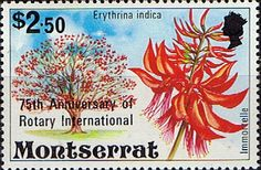 Montserrat 1980 Rotary International Fine Mint Overprints Surcharged  SG 467 Scott 420 Other West Indies and British Commonwealth Stamps HERE!