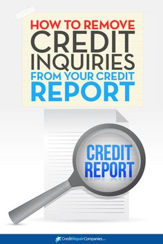 Credit Inquiry Removal Letter Updated for 2017 Credit bureau