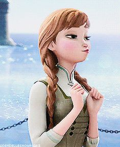 Frozen~Anna can Anna have a bit of the spotlight please? She saved the world without powers.