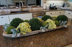Kitchen island decor 63 Best ideas kitchen table centerpiece tray dough bowl Better Have File Cabine Kitchen Island Centerpiece, Kitchen Island Decor, Kitchen Islands, Kitchen Cupboards, Kitchen Peninsula, Kitchen Colors, Cabinets, Dining Room Table, A Table
