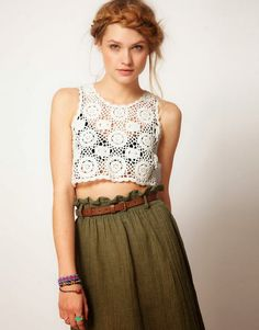 Any inspirations Croche with Lucy: Top