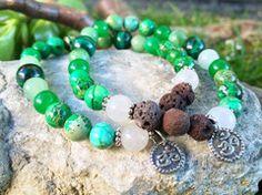 The Calm One-Dedicated to Maharishi Mahesh Yogi essential oil bracelet by LavHa