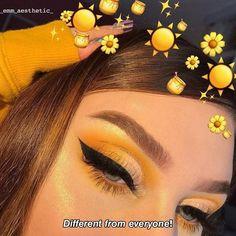 𝑭𝒐𝒍𝒍𝒐𝒘 @_emm_aesthetic_ 𝒇𝒐𝒓 𝒎𝒐𝒓𝒆. . . . . #aesthetic #quoteoftheday #qoutes #aesthetic_photos #yellowquotes #yellow #aestheticquote #yellow_emm_aesthetic_ #_emm_aesthetic_ Yellow Eye Makeup, Colorful Eye Makeup, Yellow Eyeshadow, Makeup Eye Looks, Pretty Makeup, Easy Makeup, Baddie Makeup, Pinterest Makeup, Creative Makeup Looks