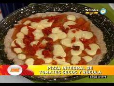 Crocante pizza integral (Parte 2)