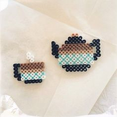 Tea Time perler beads by sfv by lorie