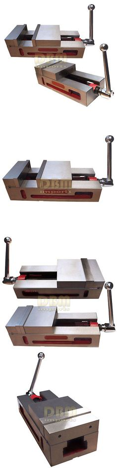 Clamps and Vises 20761: 6 Super-Lock Precision Vise Cnc .0004 Nc Cnc Milling Machine Vice Clamps -> BUY IT NOW ONLY: $229.95 on eBay!