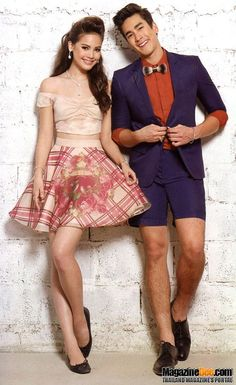 Yaya and nadech My Love From The Star, Barbie, Fashion Videos, Sweet Couple, Asian Actors, Actor Model, Celebrity Couples, Asian Men, I Love Fashion