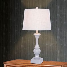 m.r. Lamp & Shade 28 in. Resin Table Lamp - W-6216CG