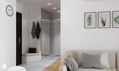 Projekt mieszkania. Kraków Nowe Czyżyny - Hol / przedpokój, styl skandynawski - zdjęcie od PRØJEKTYW | Architektura Wnętrz & Design