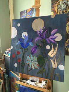 My studio, työhuone My Arts, Studio, Artist, Painting, Study, Painting Art, Paintings, Studying, Amen