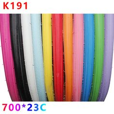 2017 Kenda 1 Pcs Road Bicycle Tires 700*23c Fixed Gear Dead Flying Bike Tyre 11 Colors K191 110PSI Bike Tire Cycling Accessories