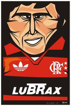 Galinho - Zico Flamengo