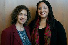 Washington Association of Black Journalists President Donna Walker and Philadelphia Association of Black Journalists President Sarah Glover at #NABJPR: Media Institute