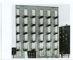 Mario Asnago e Claudio Vender, Edificio per abitazioni, Milano, 1939