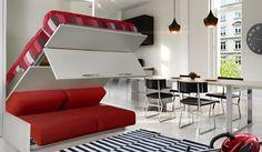 lit escamotable avec canape integre ikea - Recherche Google