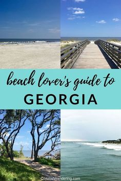 Georgia's shoreline is home to some of the most beautiful beaches in the United States! Here are the key details you need to know about visiting the best Georgia beaches, including Driftwood Beach, Gl St Simons Island Georgia, Georgia Islands, Jekyll Island Georgia, Tybee Island Georgia, Cumberland Island Georgia, Savannah Georgia, Destin Beach, Beach Trip, Beach Bum