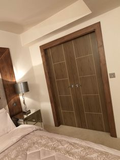 Contemporary soft walnut painted effect doors. Perfect as a JB Kindu0027s Eco Mocha : eco doors - pezcame.com