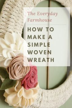 In this post I share a how to make a simple woven wreath. Fall Wreath Tutorial, Diy Wreath, Wreath Ideas, Fall Wreaths, Christmas Wreaths, Wire Wreath Forms, Dollar Tree Decor, Craft Show Ideas, Crafts To Make And Sell
