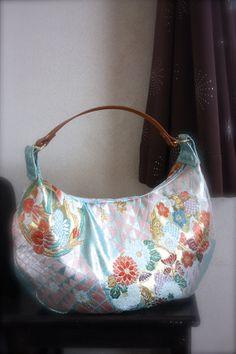 Obi / Kimono / Bag / LBL518 Beautiful Japanese by RummyHandmade, $75.00