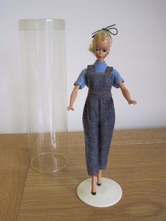 1950s Small Original Bild Lilli Doll in Original Rare #1145 Jean Overall in Tube | eBay