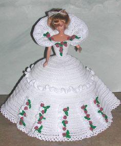 POUPÉE au crochet mannequin poupée Barbie Pattern 666