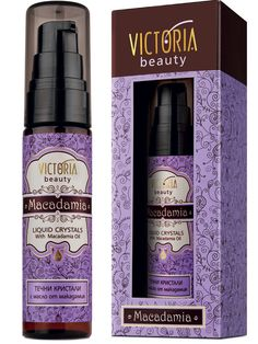 Ser reparator cu ulei de Macadamia - 30 ml - Cristale lichide cu ulei de macadamia - ser intens reparator pentru orice tip de par, in special pentru parul uscat si deteriorat. Cristalele lichide creaza un efect protector impotriva efectelor daunatoare ale razelor UV. Compozitie usoara si bogata in vitamine ce permite absorbtia rapida de catre firul de par. Victoria Beauty, Macadamia Oil, Presentation, Lady, Crystal