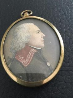 Early Miniature Portrait - 18th c., or very early 19th c - Exc. Cond